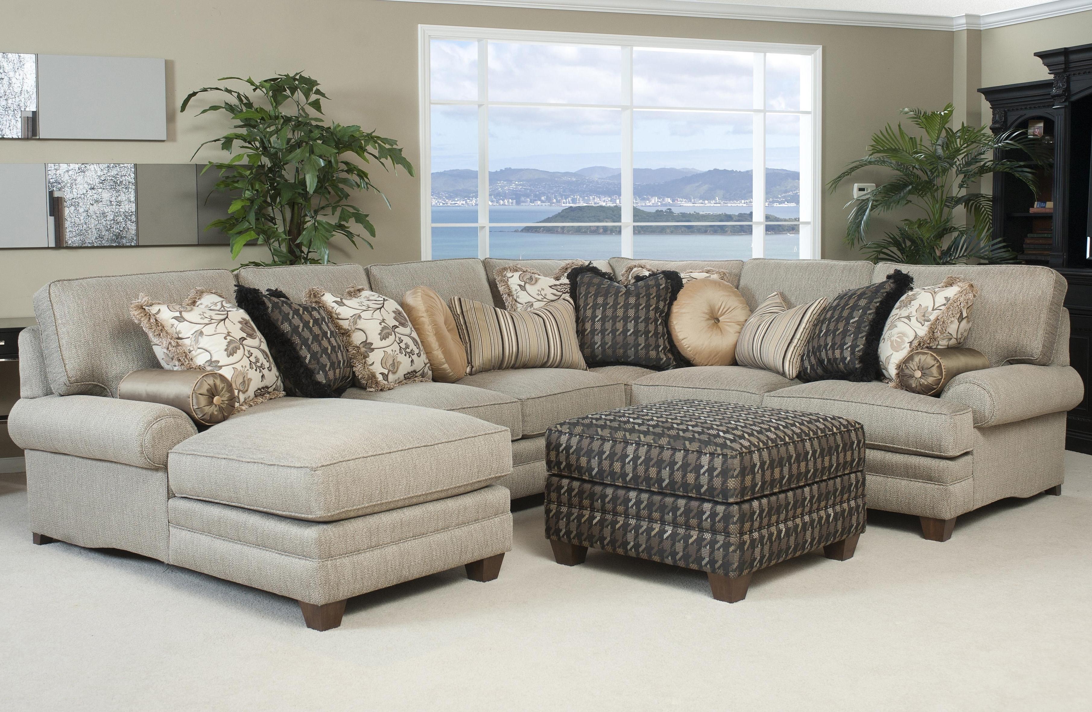 Beige Sectional Sofa