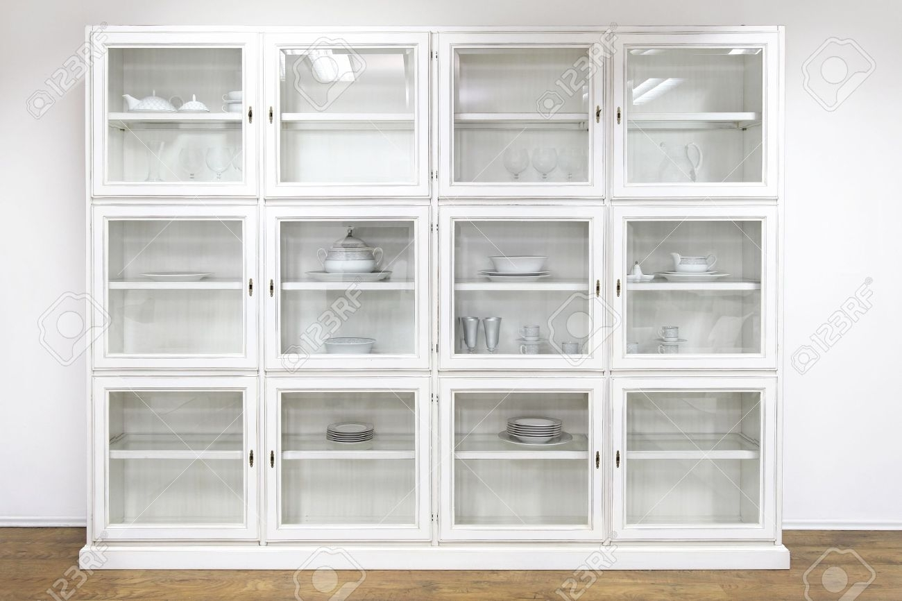 Cabinet Display Case Showcase Sliding Glass Door Lock