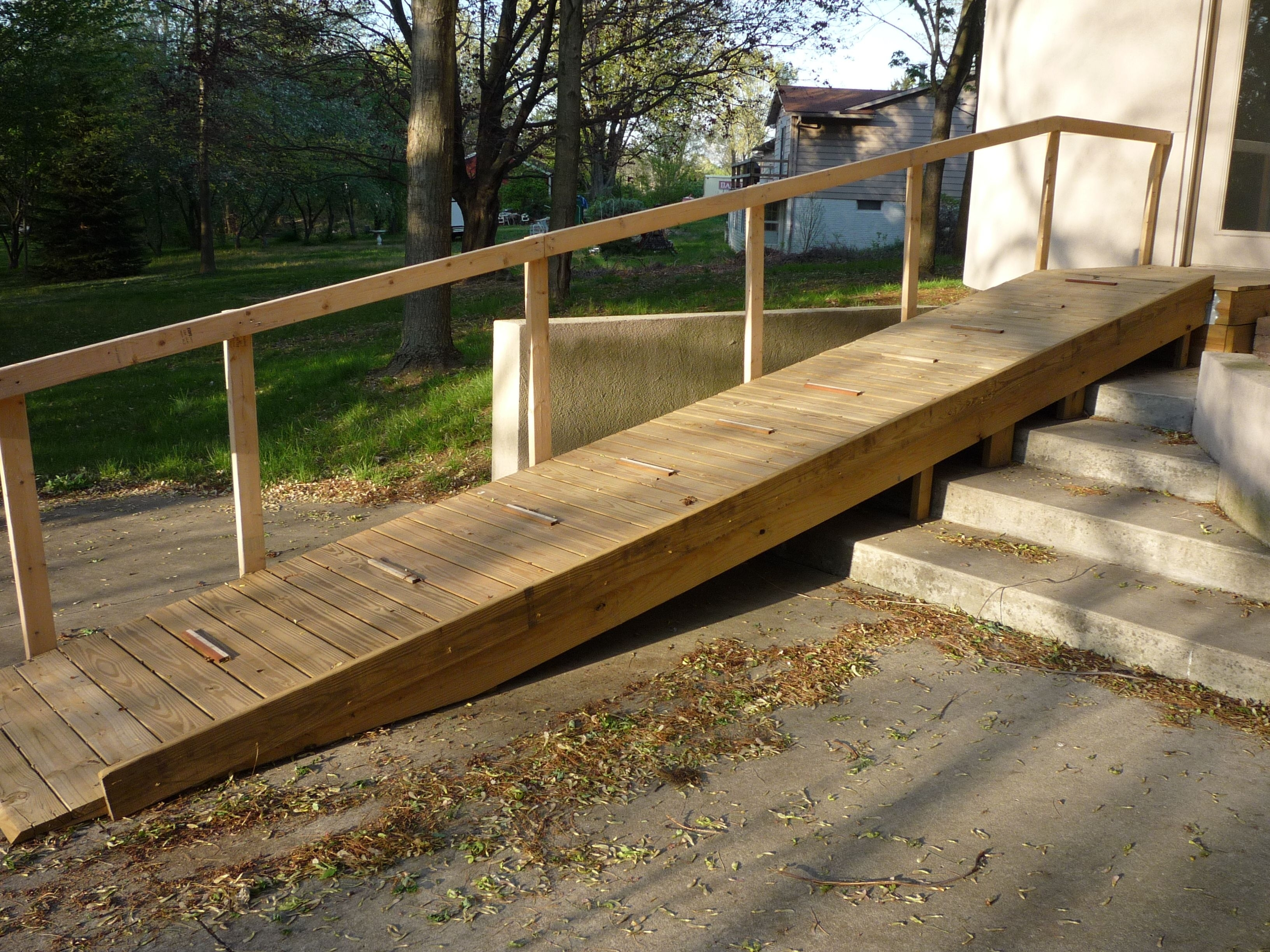 Portable Wheelchair Ramps For Steep Stairs Madison Art
