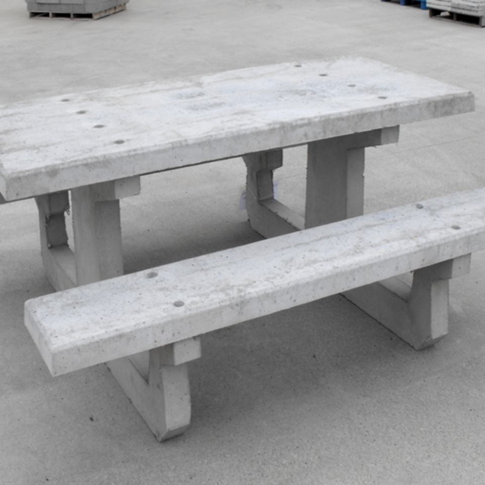 Concrete Picnic Tables Best Furniture Outdoor Madison Art Center - Concrete picnic table forms