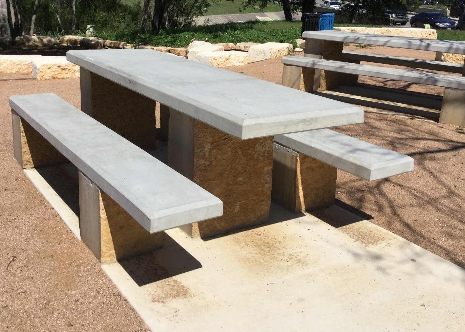 Precast Concrete Forms For Sale: Concrete Picnic Tables For Sale