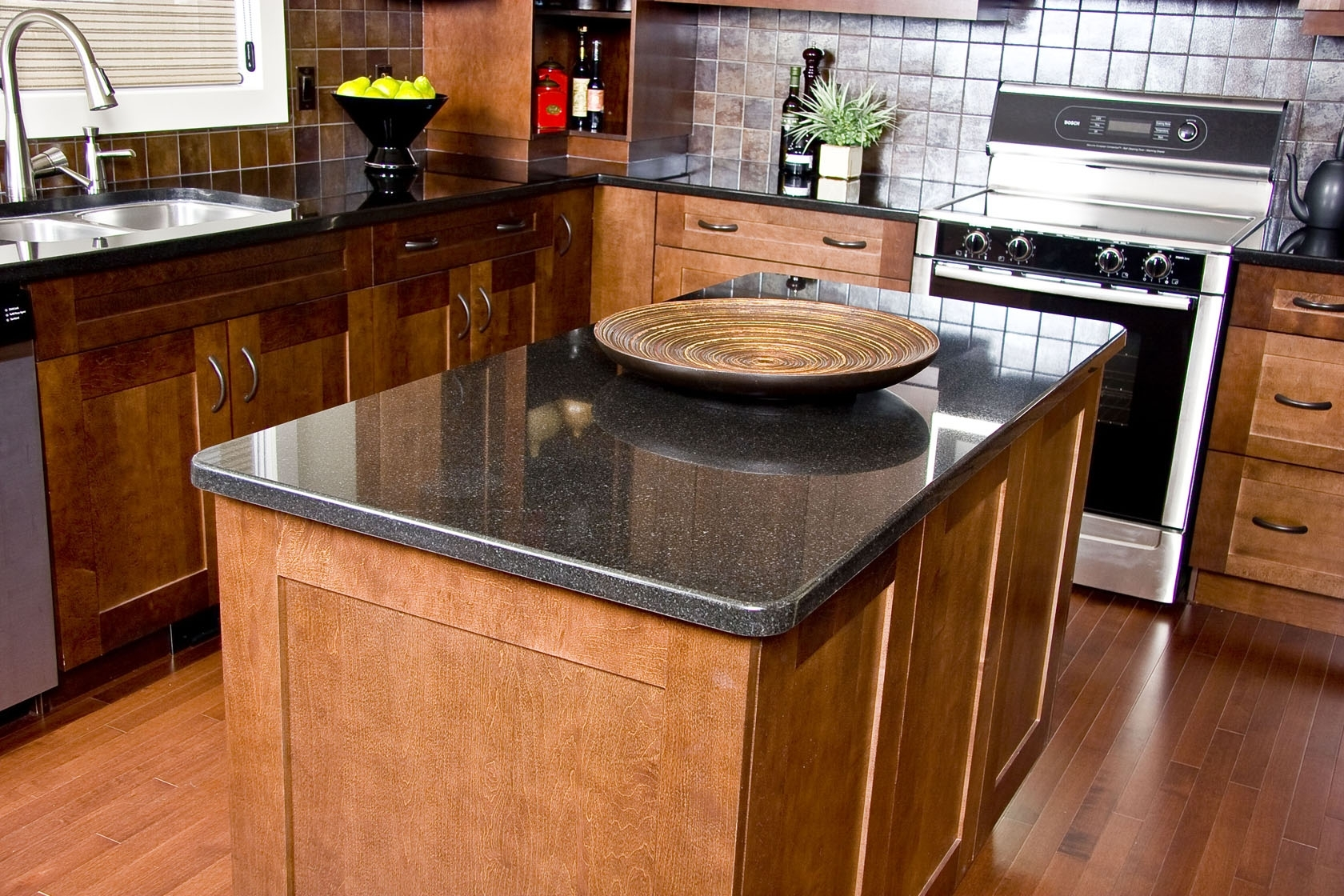 Dark Green Granite Countertops