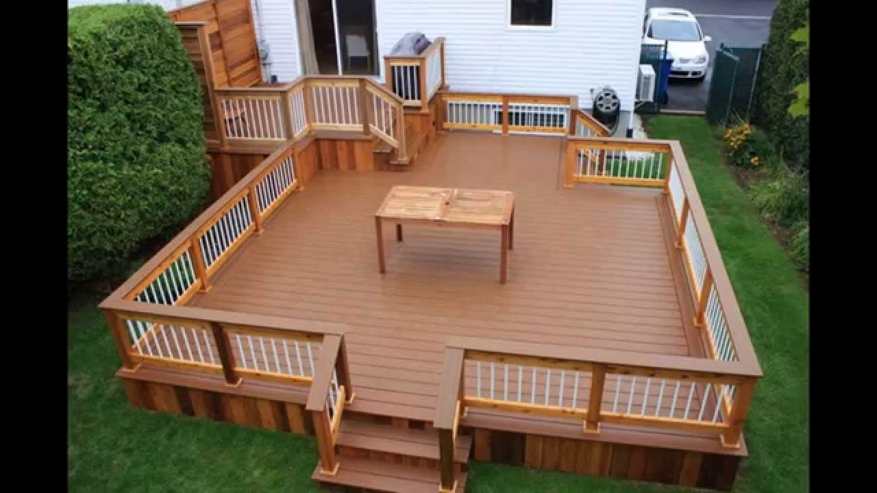 Creation For Decks And Patios Idea Of Gardens - Madison ...