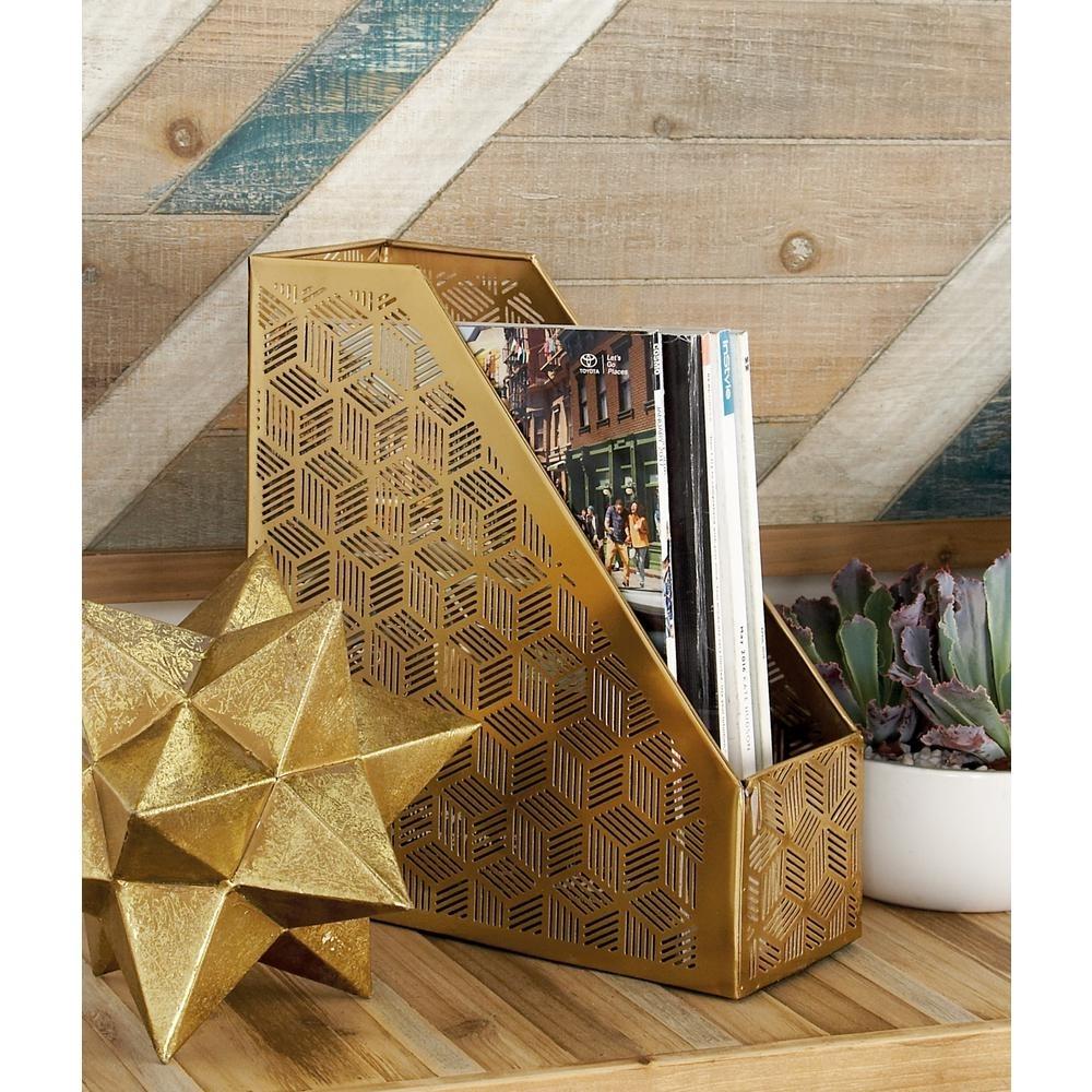 Madison Art Center Design: Decorative Wood Magazine Holder