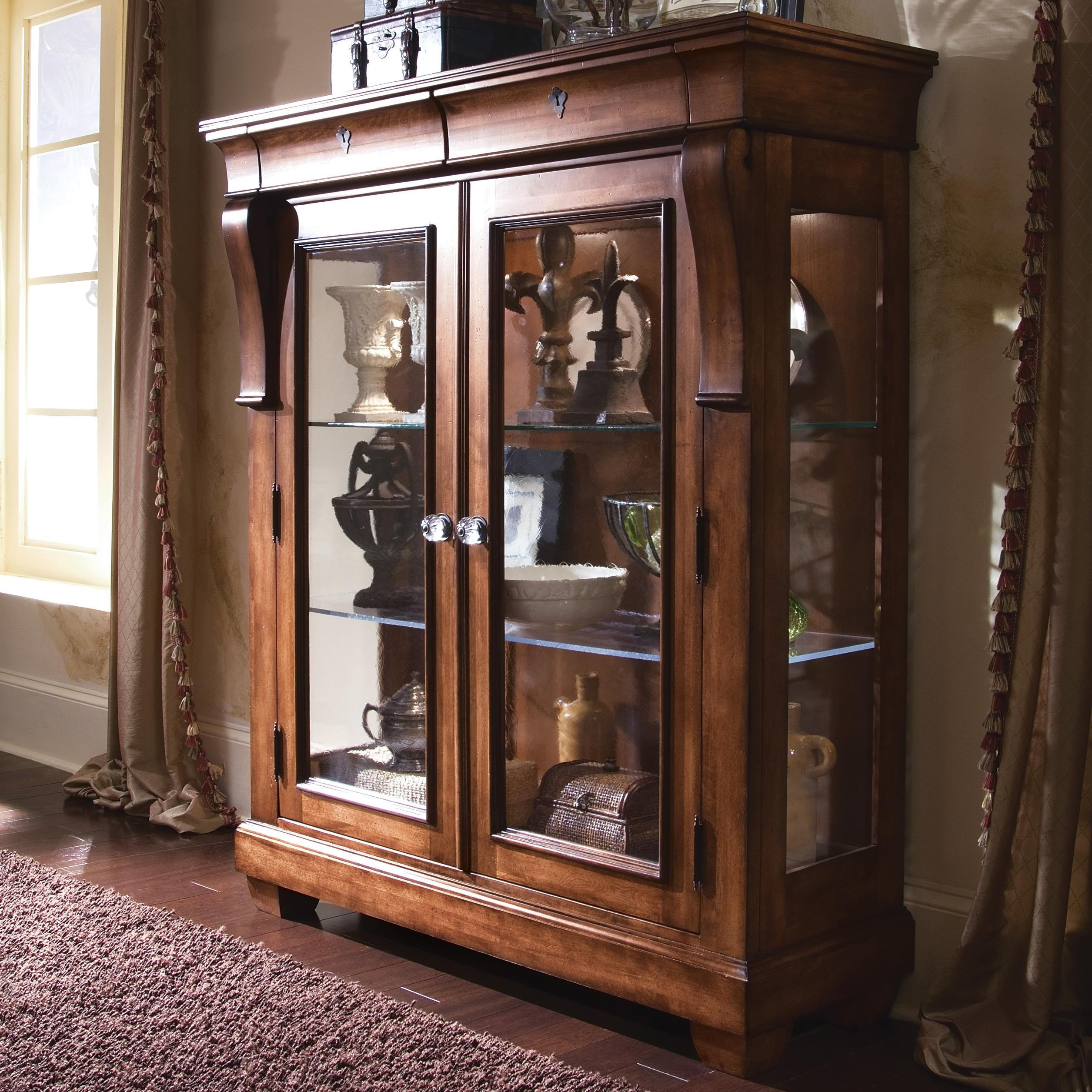 Madison Art Center Design: Display Cabinet Sliding Glass Door Hardware