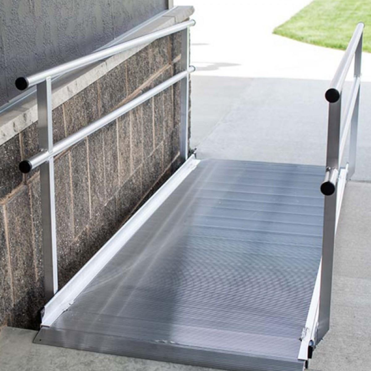 diy wheelchair ramp for stairs – madison art center design