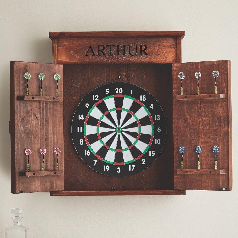 Merveilleux Electronic Dart Board Cabinet Ideas