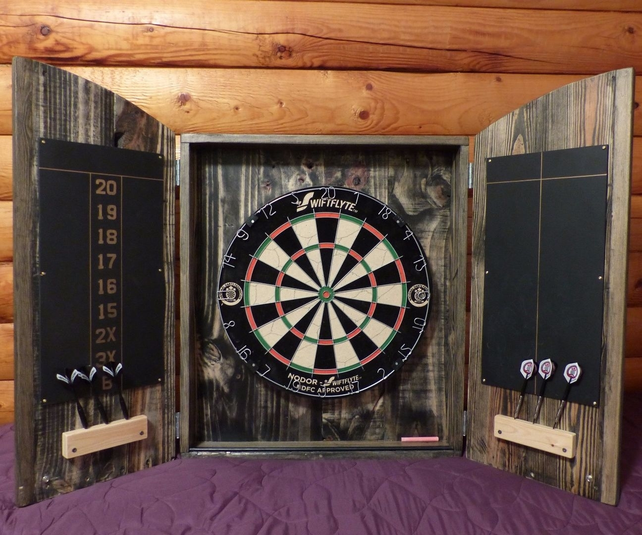 Electronic Dart Board Cabinets