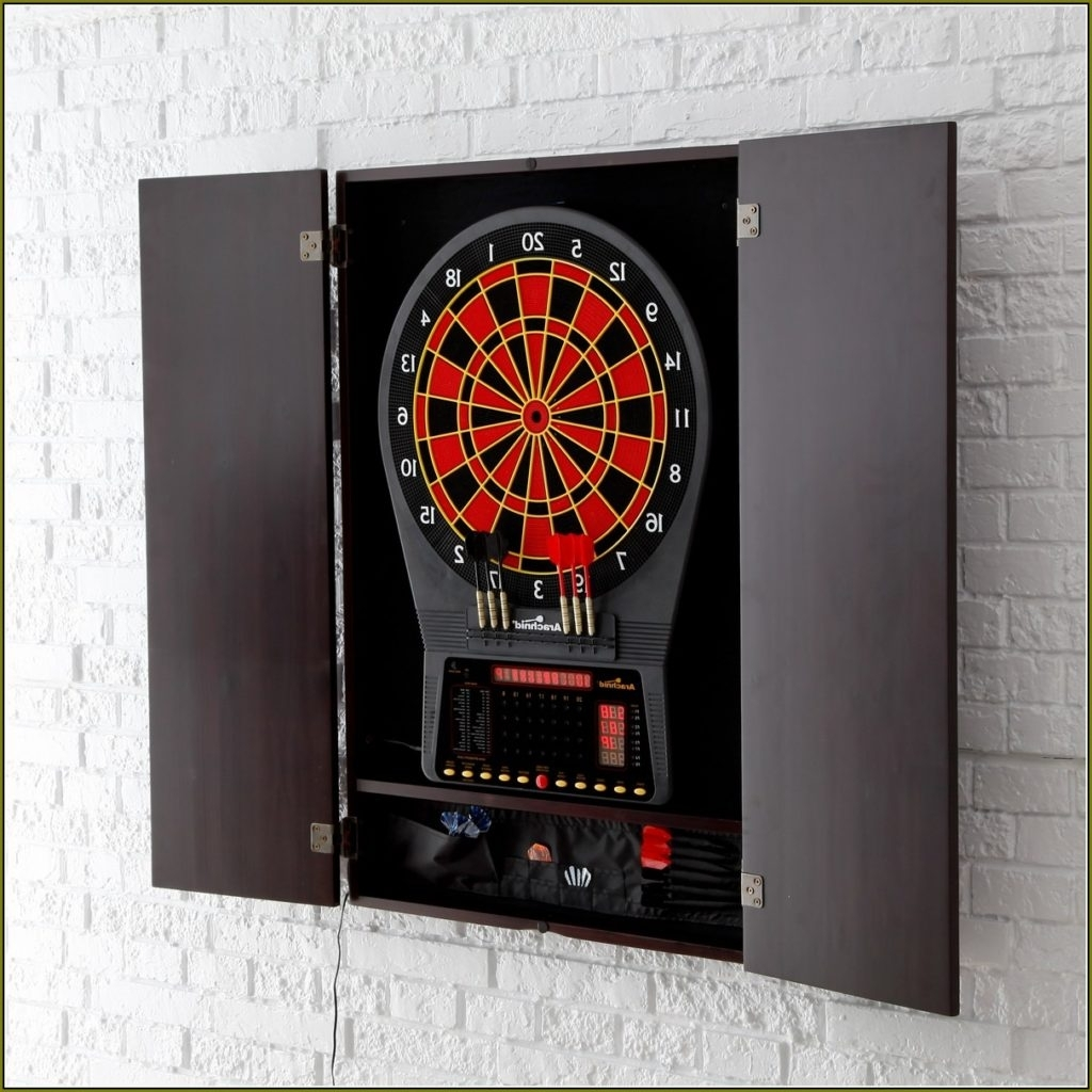 Electronic Dart Board Cabinet Ideas Madison Art Center