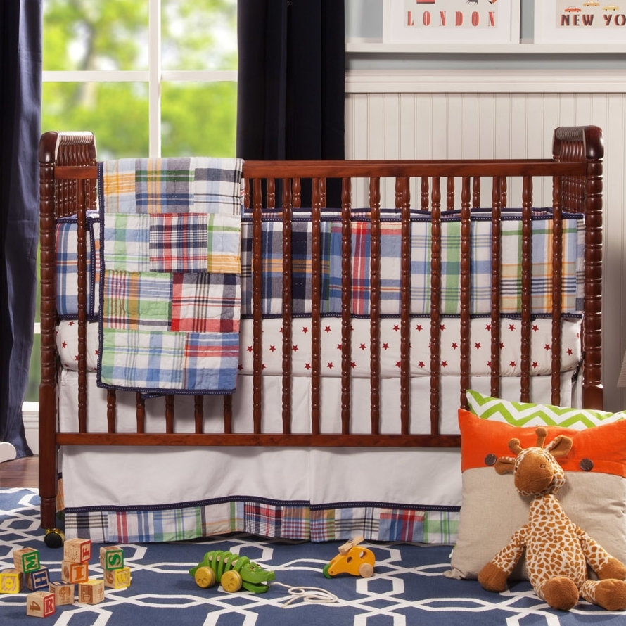Madison Art Center Design: Twin Jenny Lind Crib Vintage