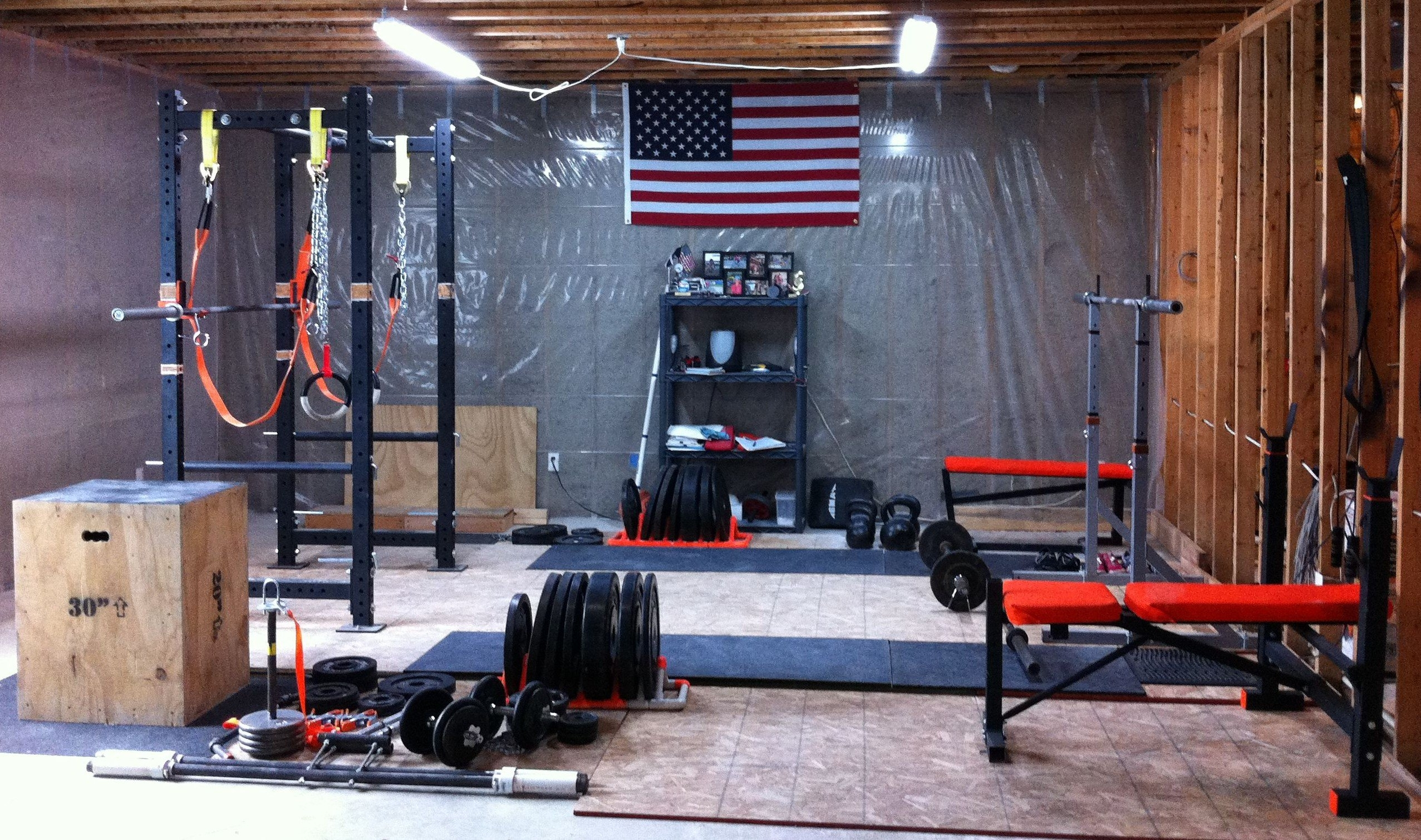 Garage gym flooring ideas madison art center design