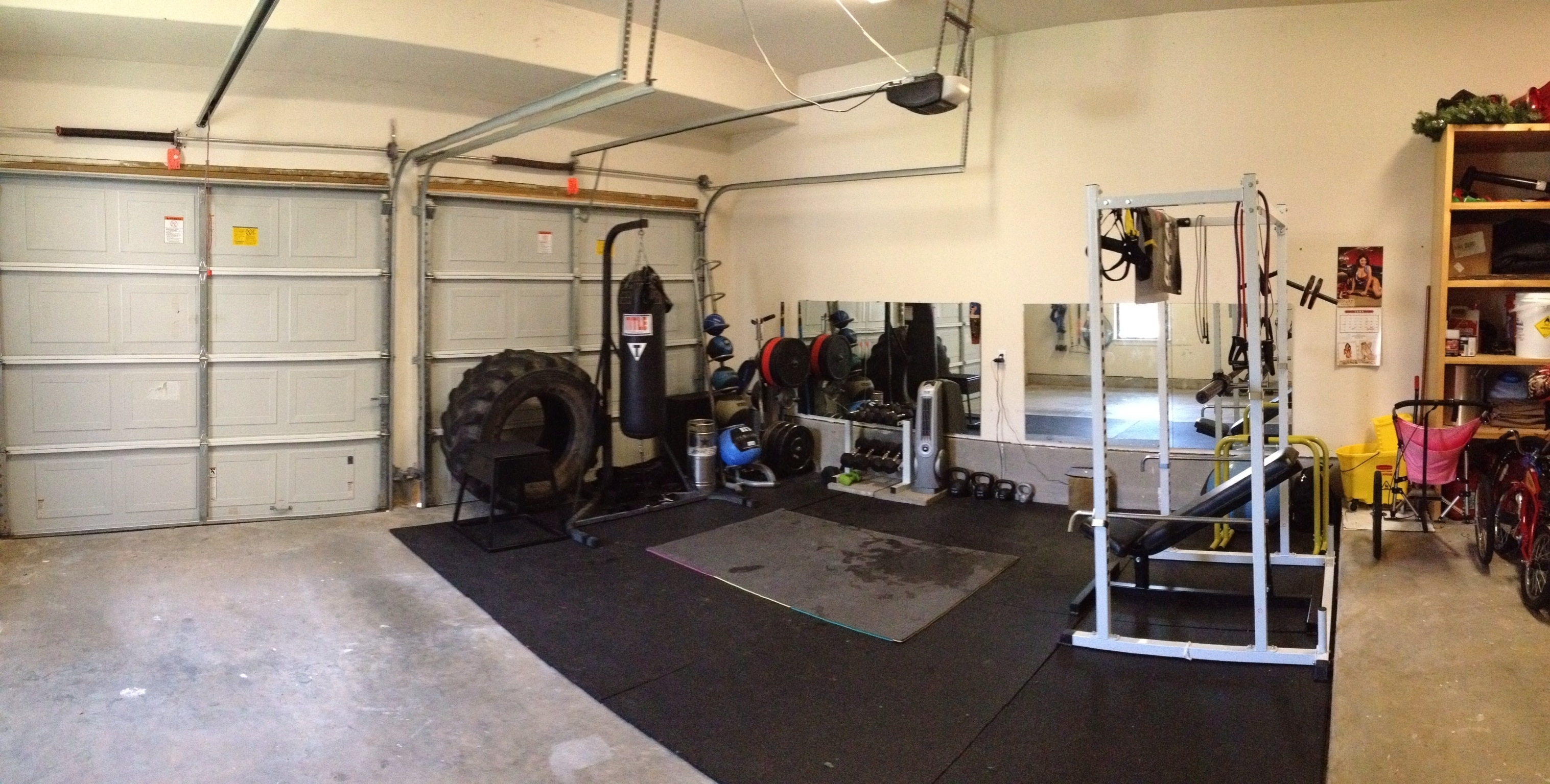 Home garage gym ideas madison art center design