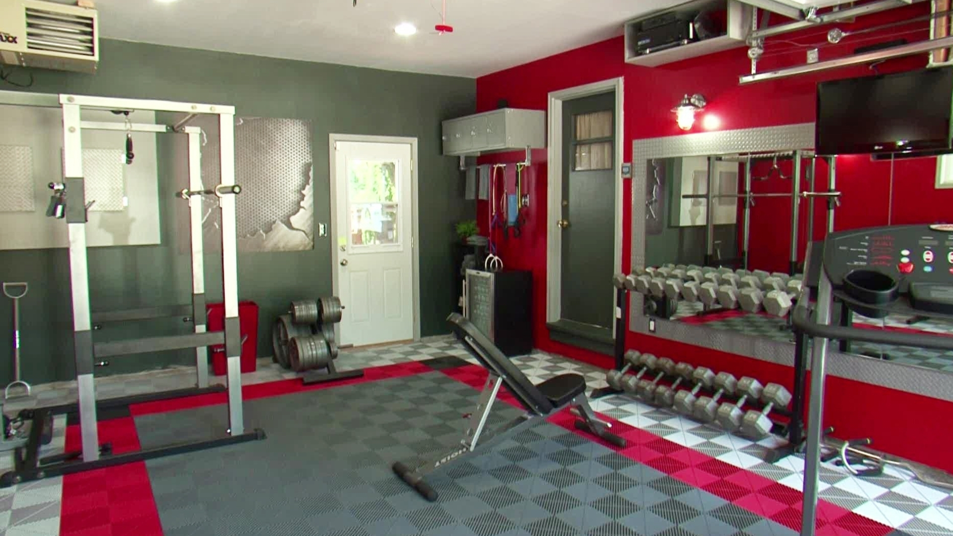 Garage Gym Ideas On A Budget Madison Art Center Design