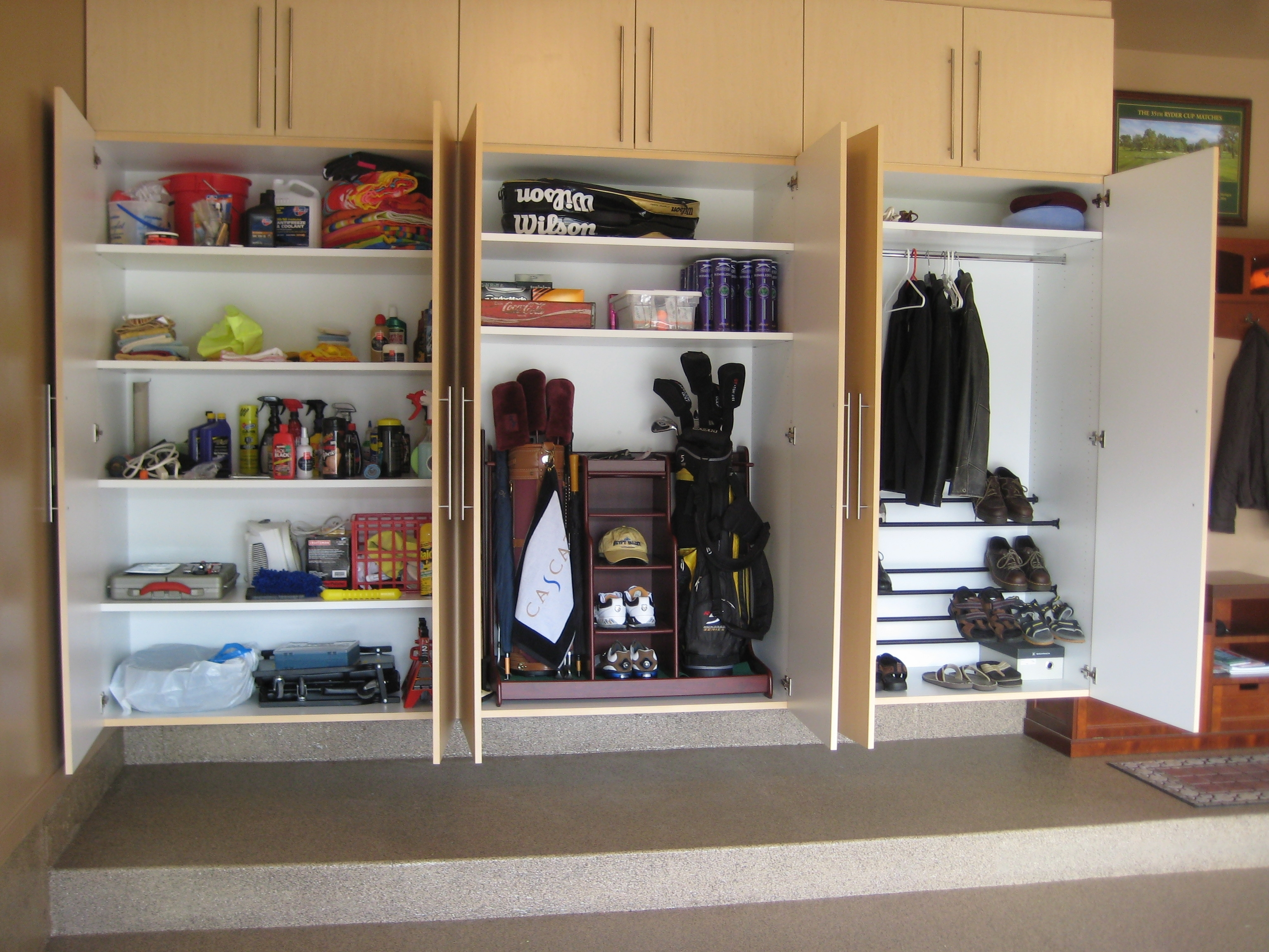 To Reuse Kitchen Shutters As Garage Storage Units ...
