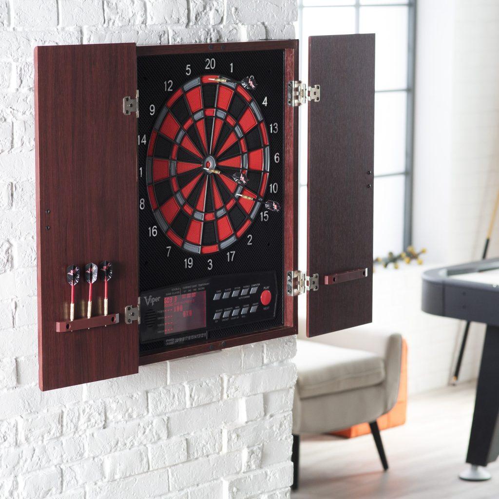 Madison Art Center Design: Halex Electronic Dartboard Cabinet