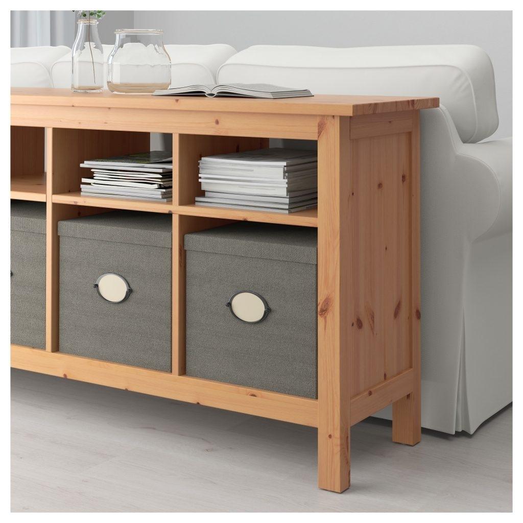 Hemnes Sofa Table Compartment Sizes