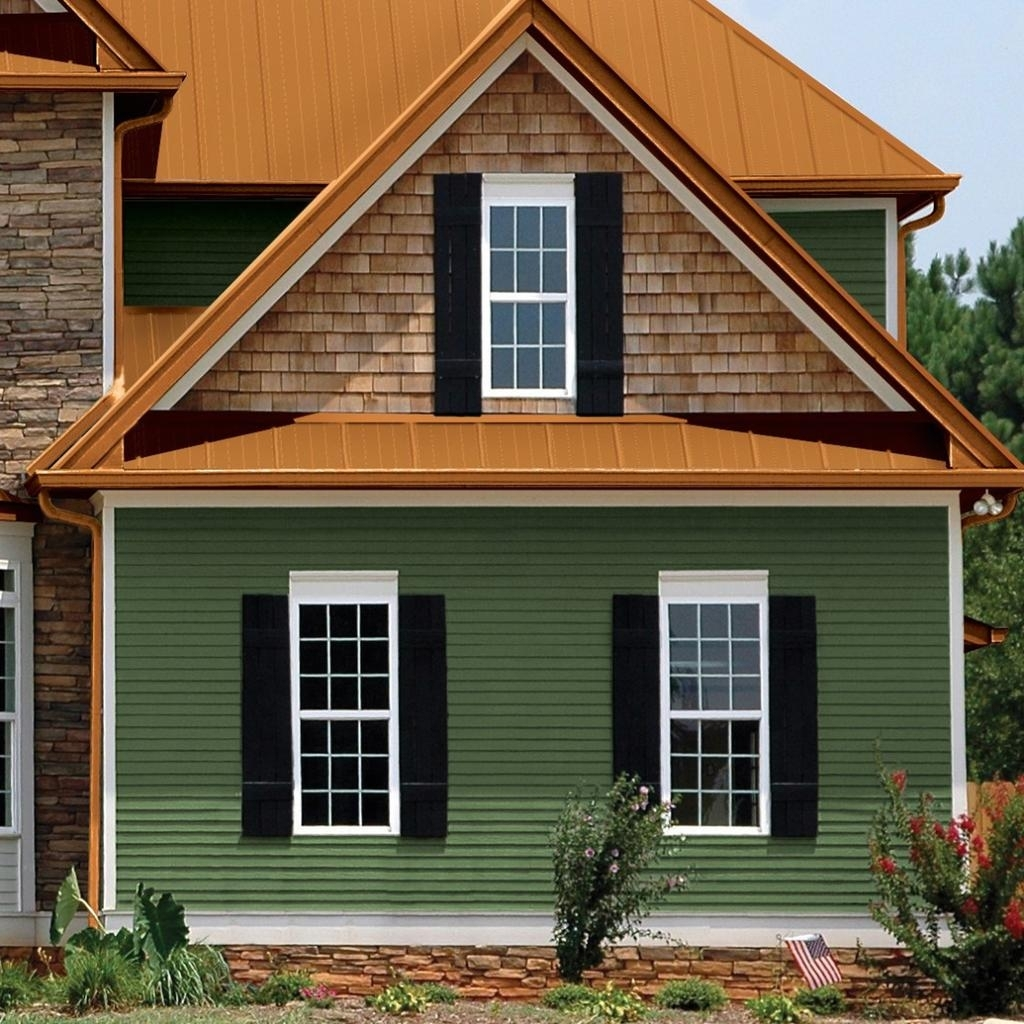 Ranch House Siding Ideas - Madison Art Center Design on House Siding Ideas  id=52787