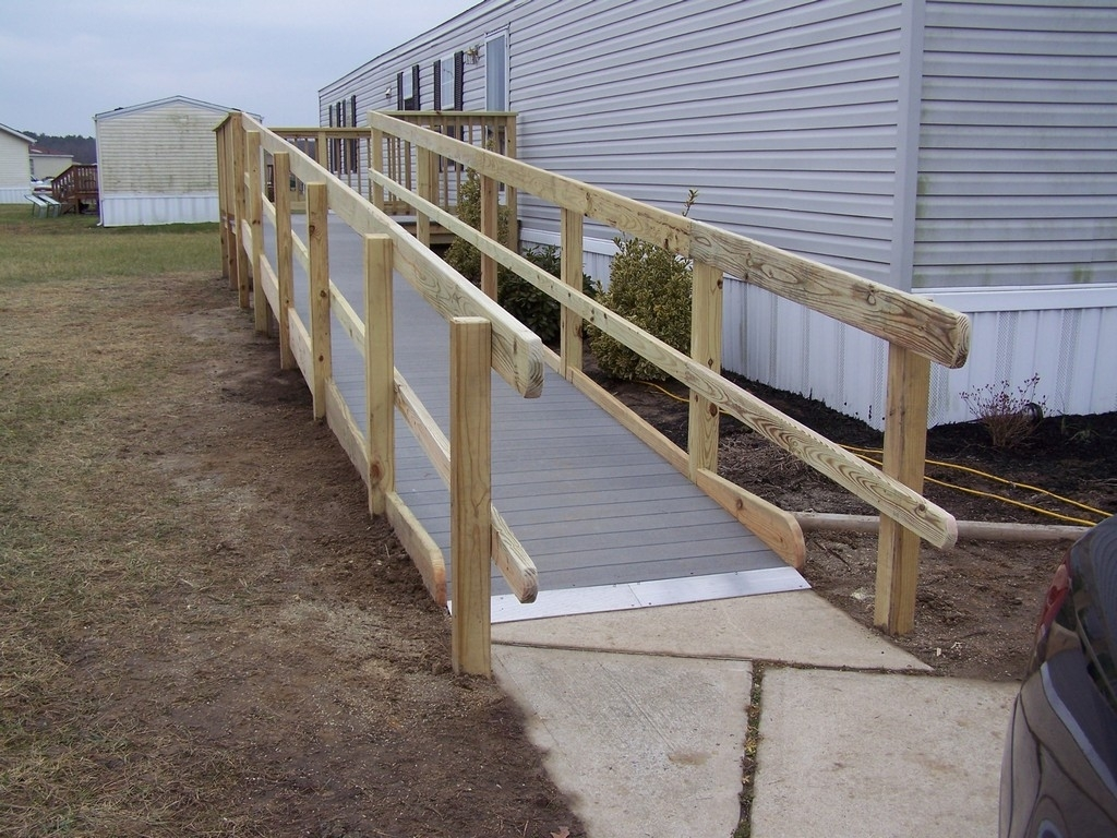 How To Build Wheelchair Ramps For Stairs