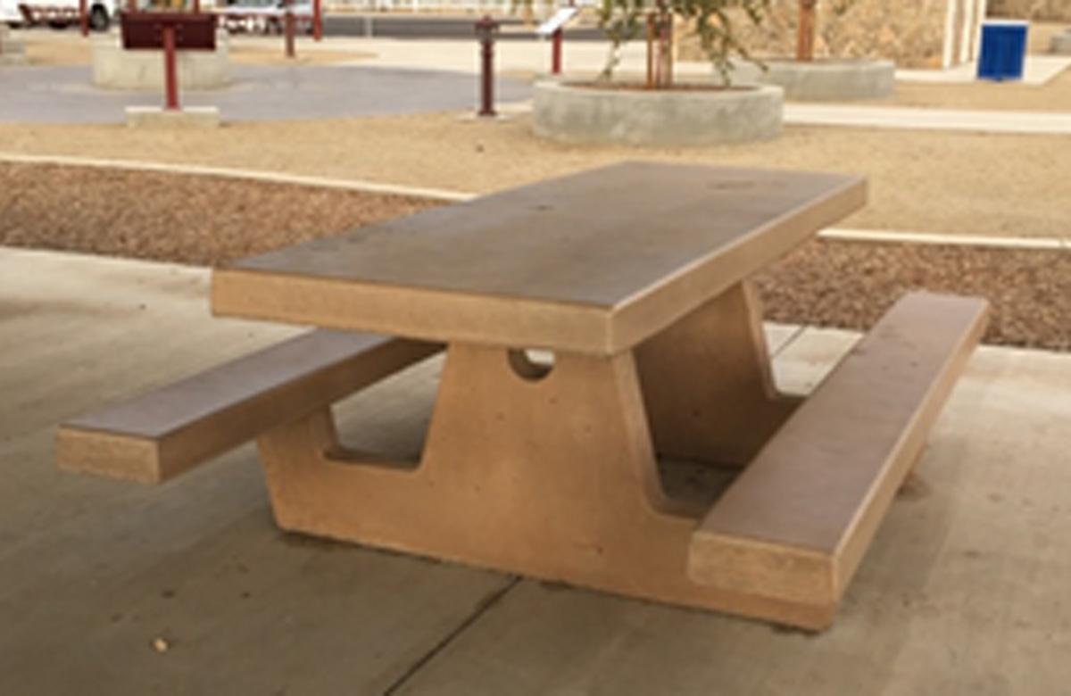 Concrete Picnic Table Sets Madison Art Center Design
