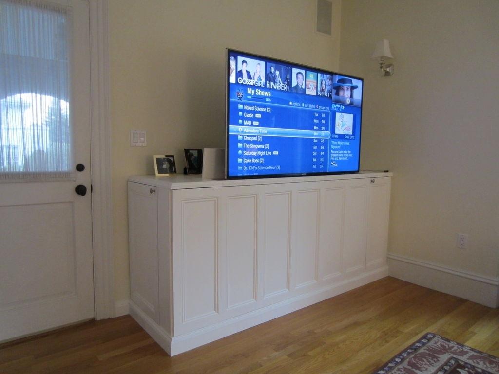 Hydraulic Tv Lift Cabinets Madison Art Center Design