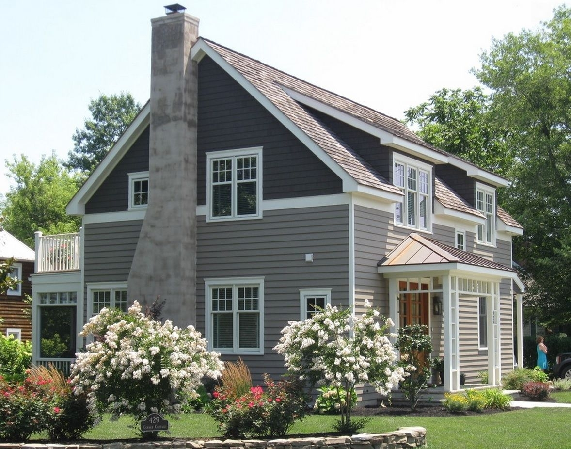 Split Level House Siding Ideas - Madison Art Center Design on House Siding Ideas  id=13650