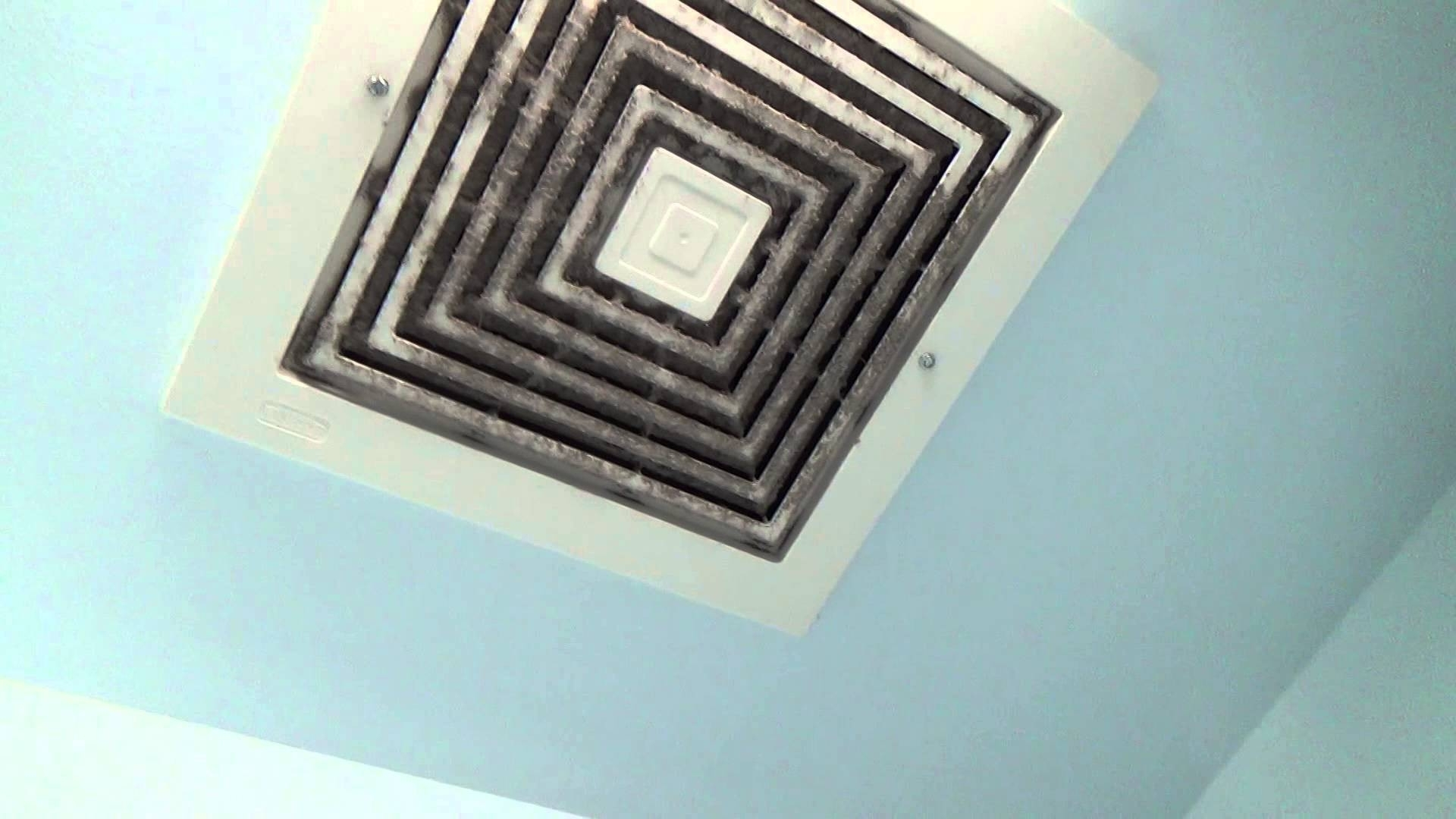 Installing Exhaust Fan Cover