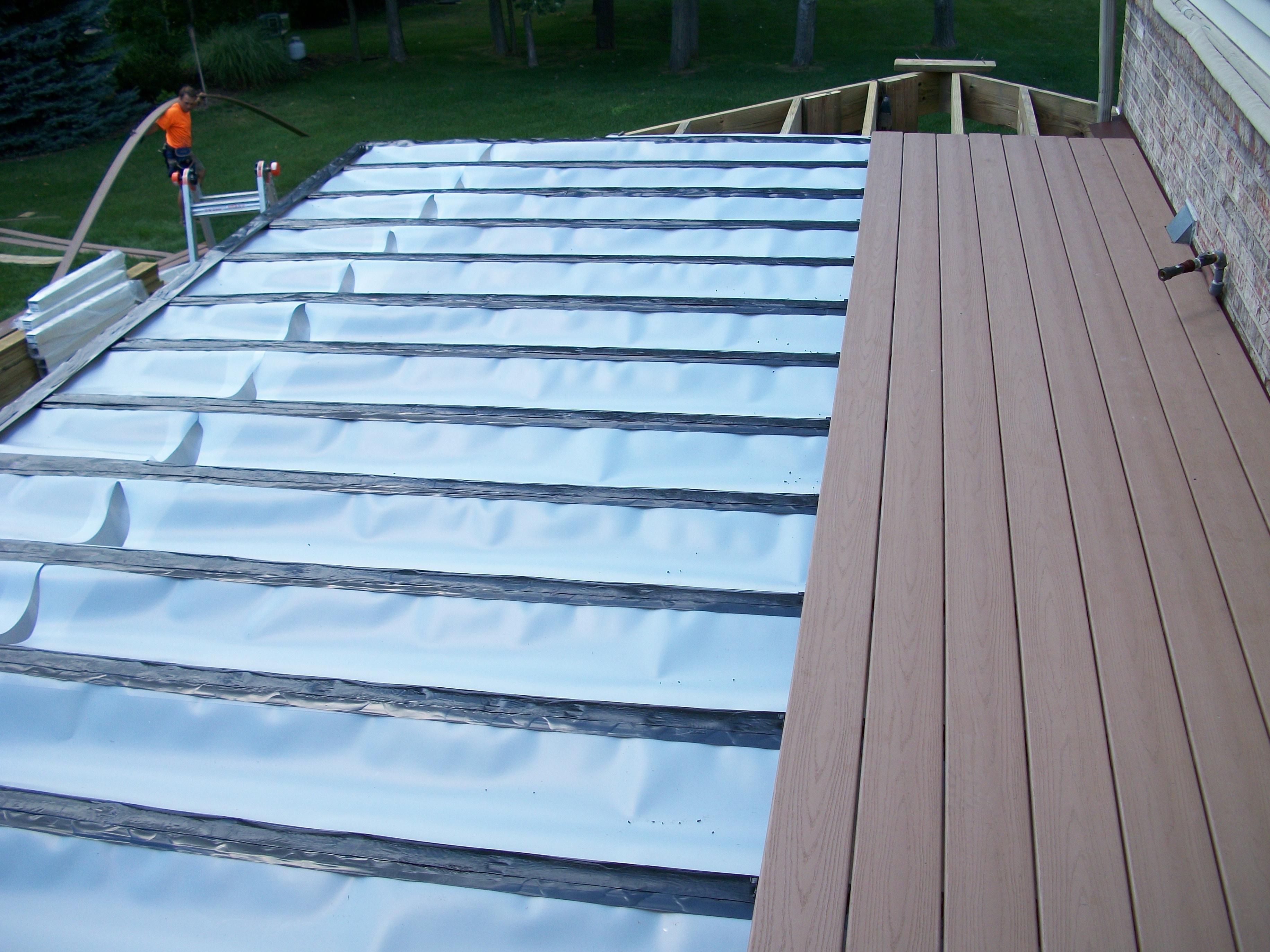 Zip Up Under Deck Drainage System Madison Art Center Design