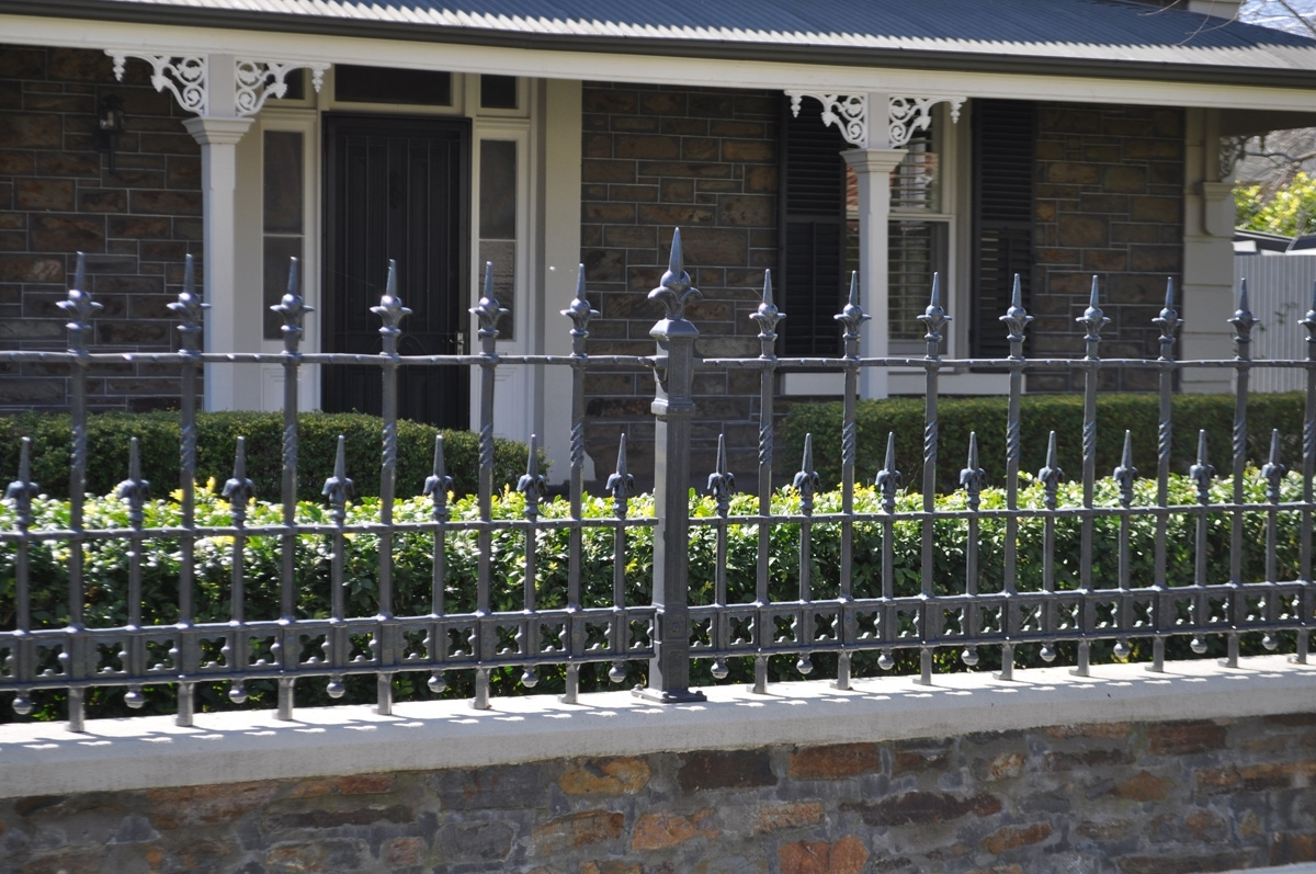 Installing A Wrought Iron Fence
