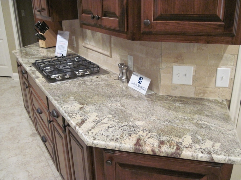 Ivory Fantasy Granite With Backsplash Madison Art Center