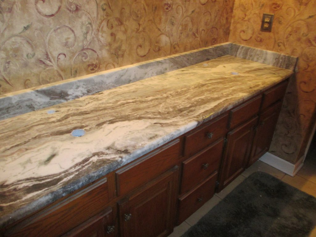 Ivory Fantasy Granite With Cherry Cabinets Madison Art