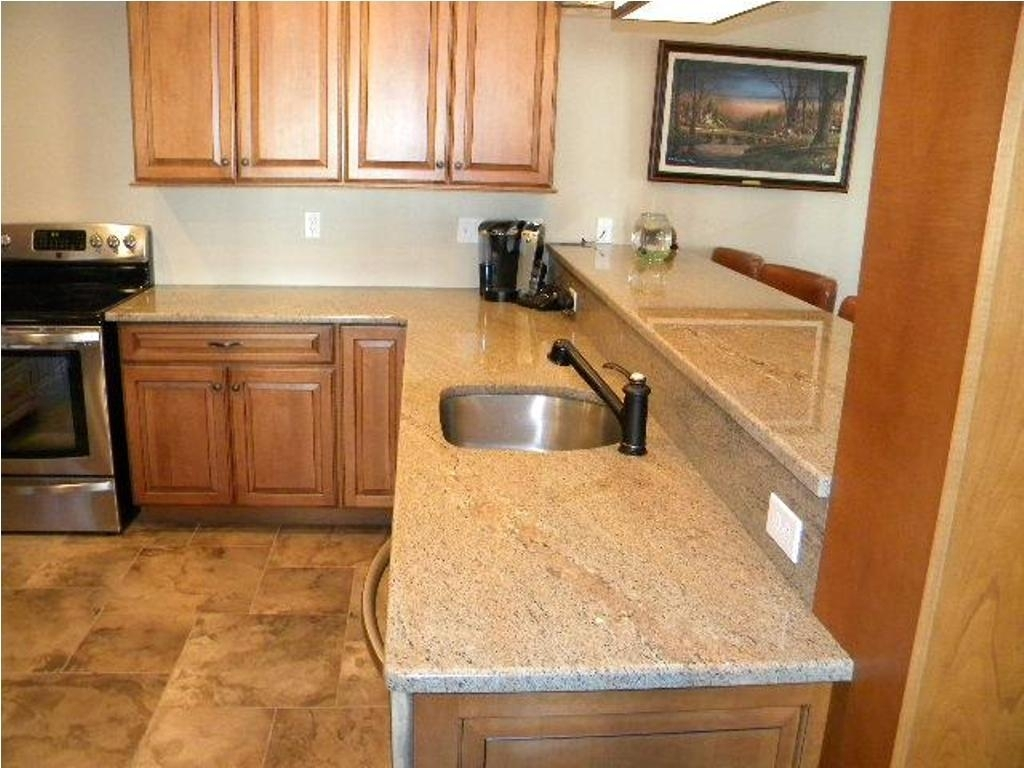 Ivory Fantasy Granite With Grey Cabinets Madison Art