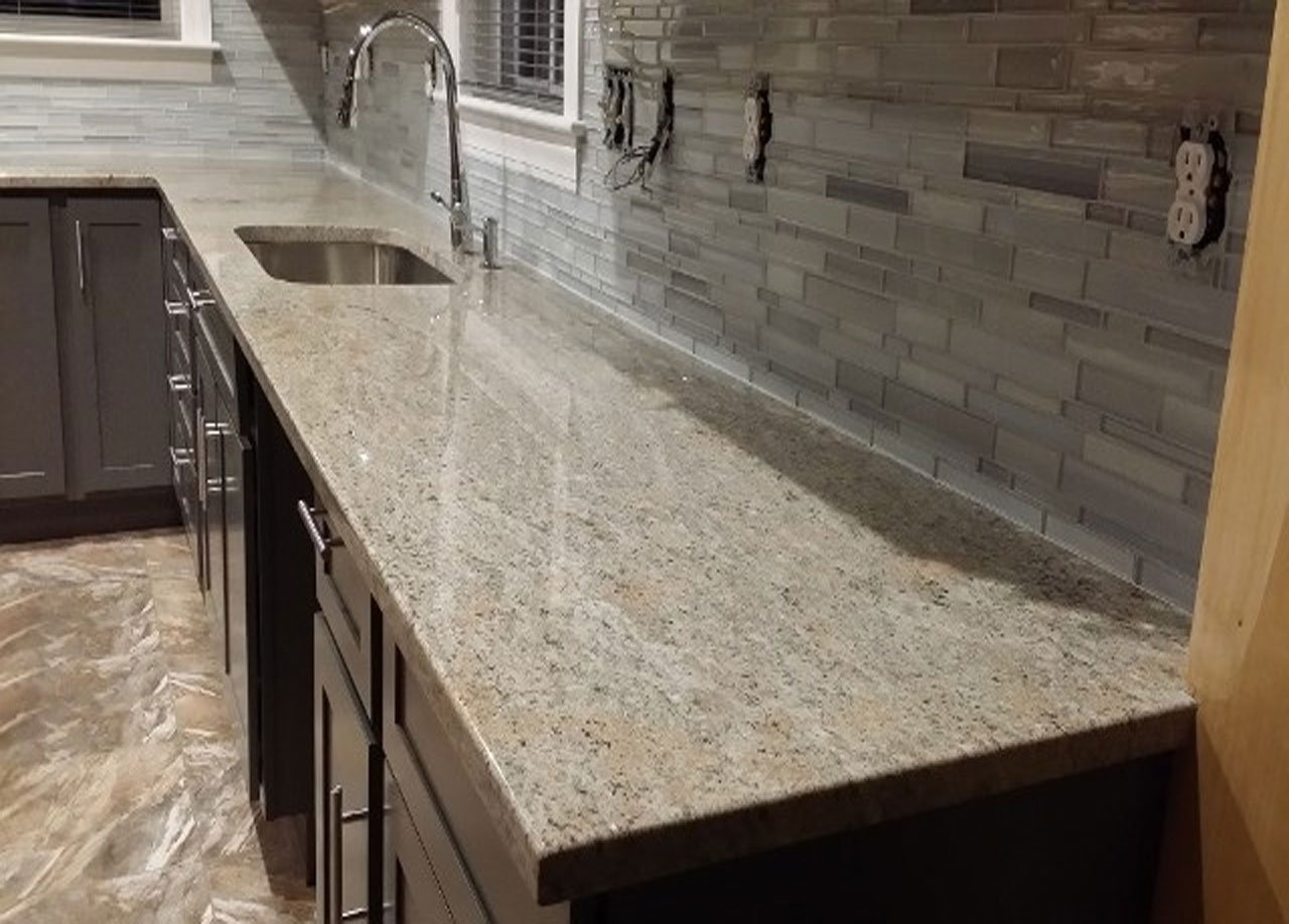 Ivory Fantasy Granite Worktop Madison Art Center Design