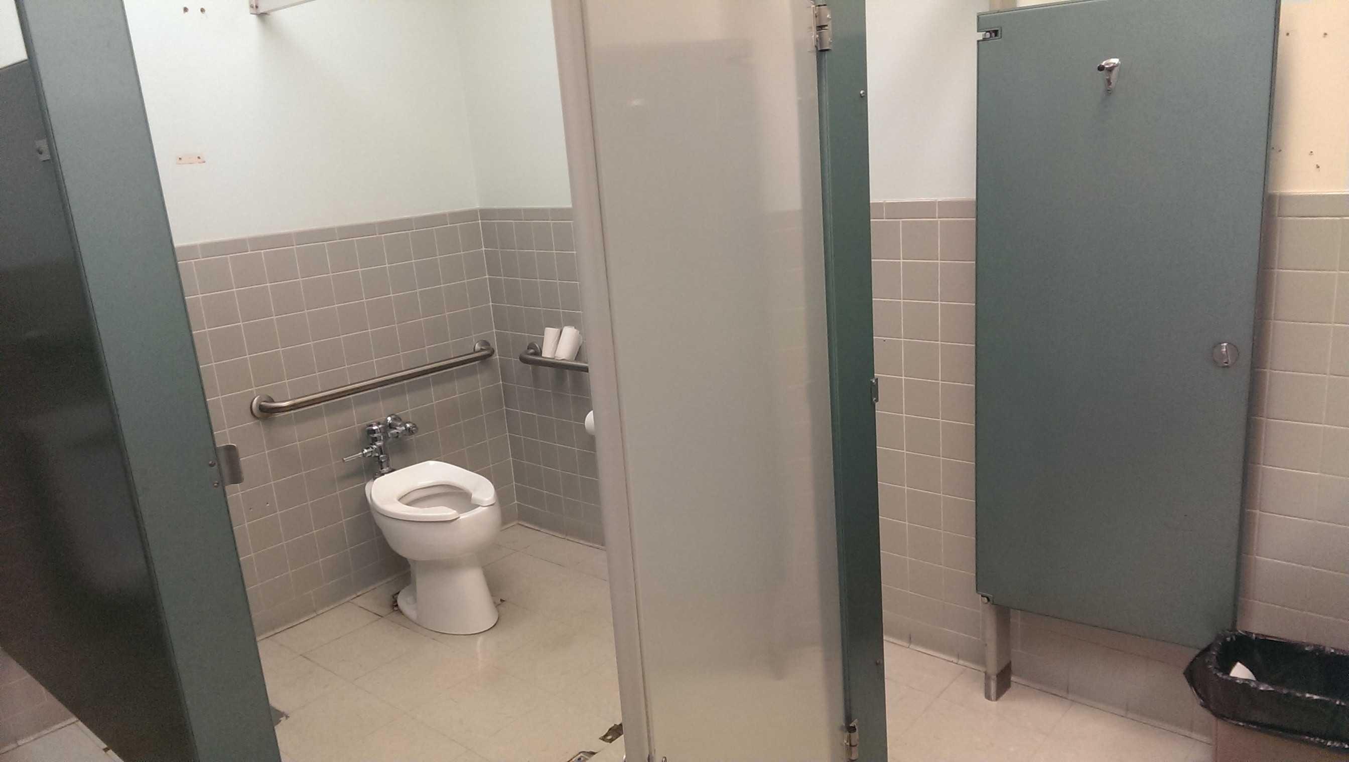 Wooden Bathroom Stall Doors Madison Art Center Design