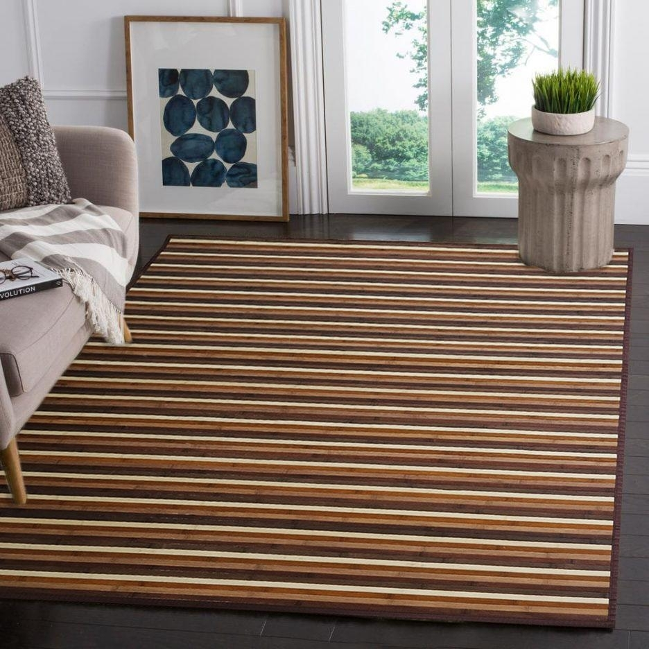 Madison Art Center Design: The Perfect Bamboo Area Rug That Can Be Your Home Wherever
