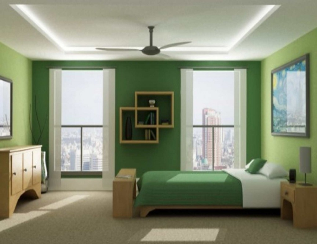 Olive Green Paint Color Kitchen - Madison Art Center Design