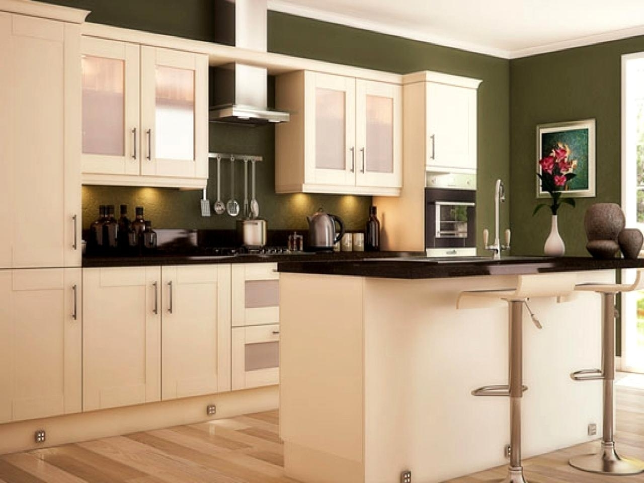 Olive Green Paint Color Kitchen