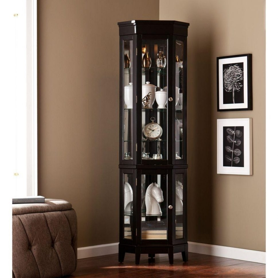 One Door Glass Display Cabinet