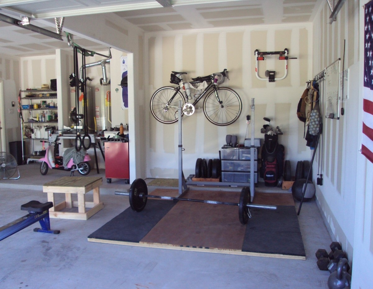Marvelous garage gym equipment rogue warrior package