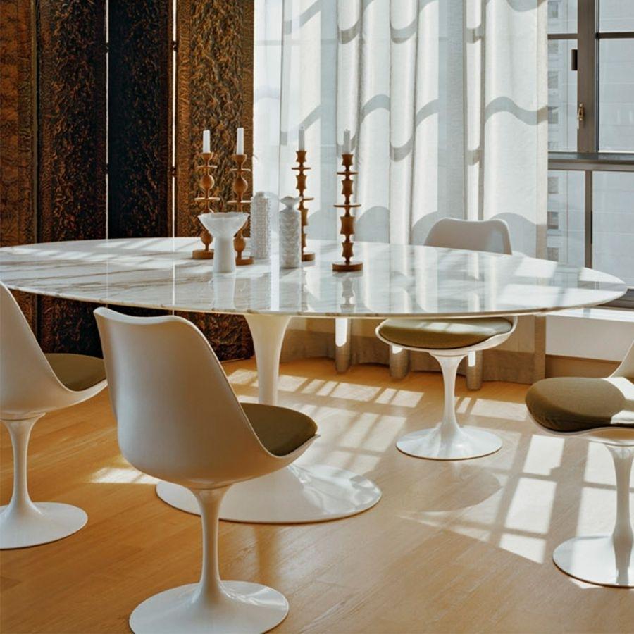 Madison Art Center Design: Saarinen Oval Dining Table Ideas