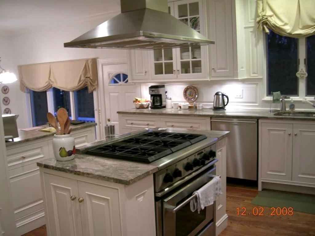 range in island kitchen how to create a kitchen island with slide in stoves madison art center design 6733