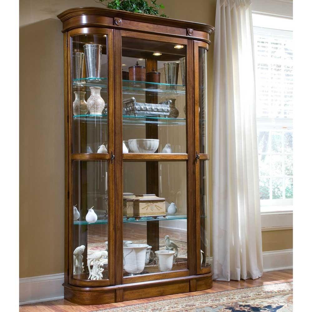 Sliding Glass Door Display Cabinet