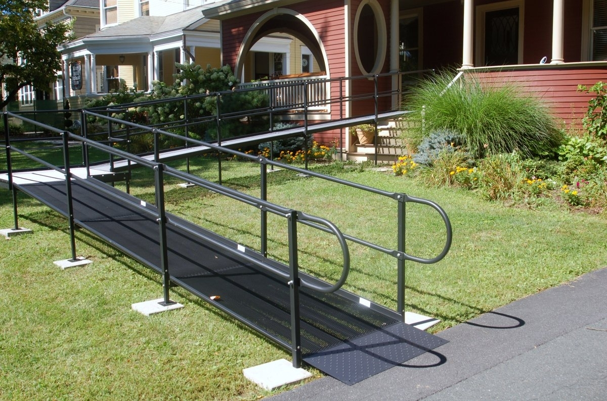 Safety Wheelchair Ramps For Stairs Madison Art Center Design