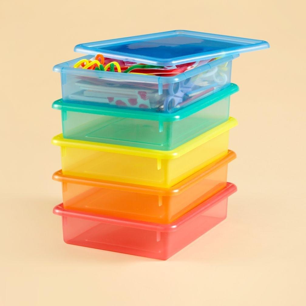 Large Stackable Plastic Storage Bins Madison Art Center
