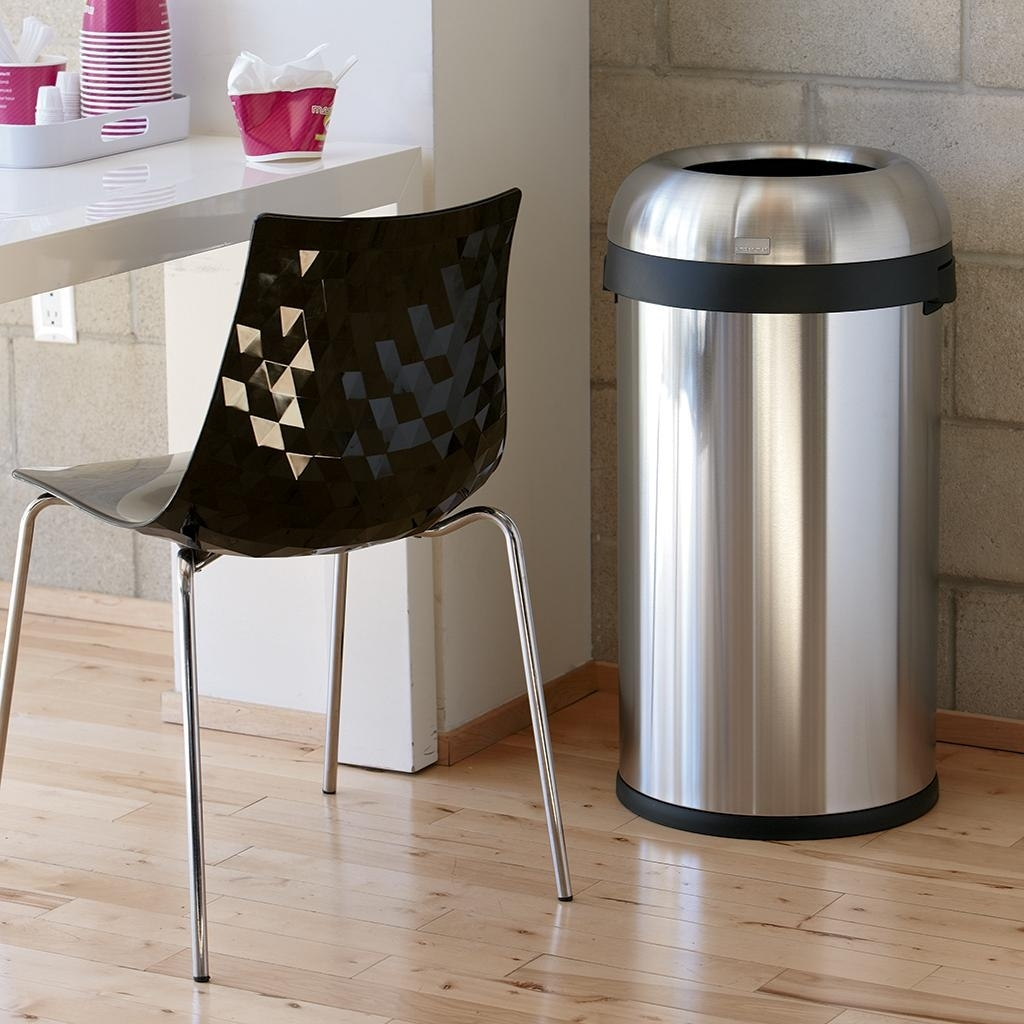 Stainless Steel Undercounter Trash Can Madison Art