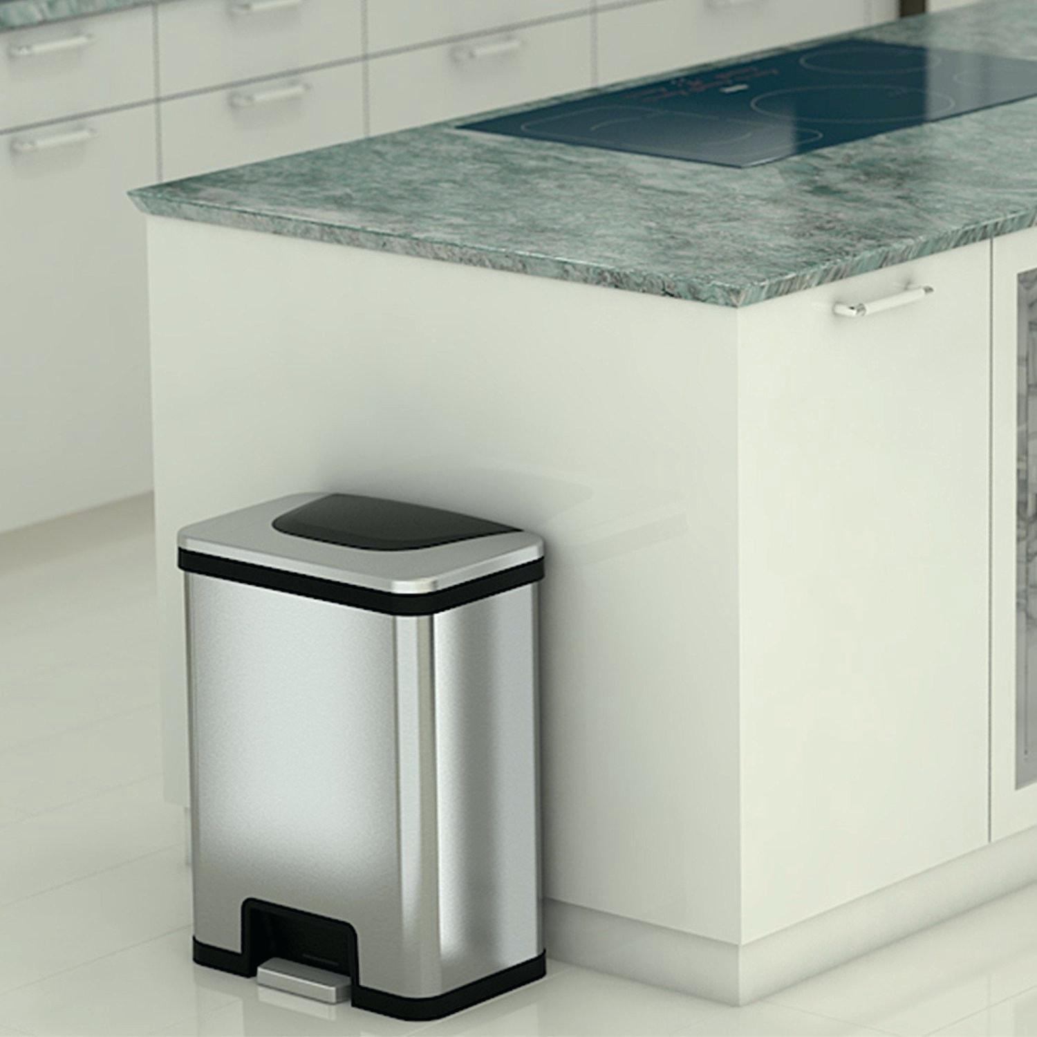 Stainless Steel Trash Can Kitchen Costco – Madison Art ...