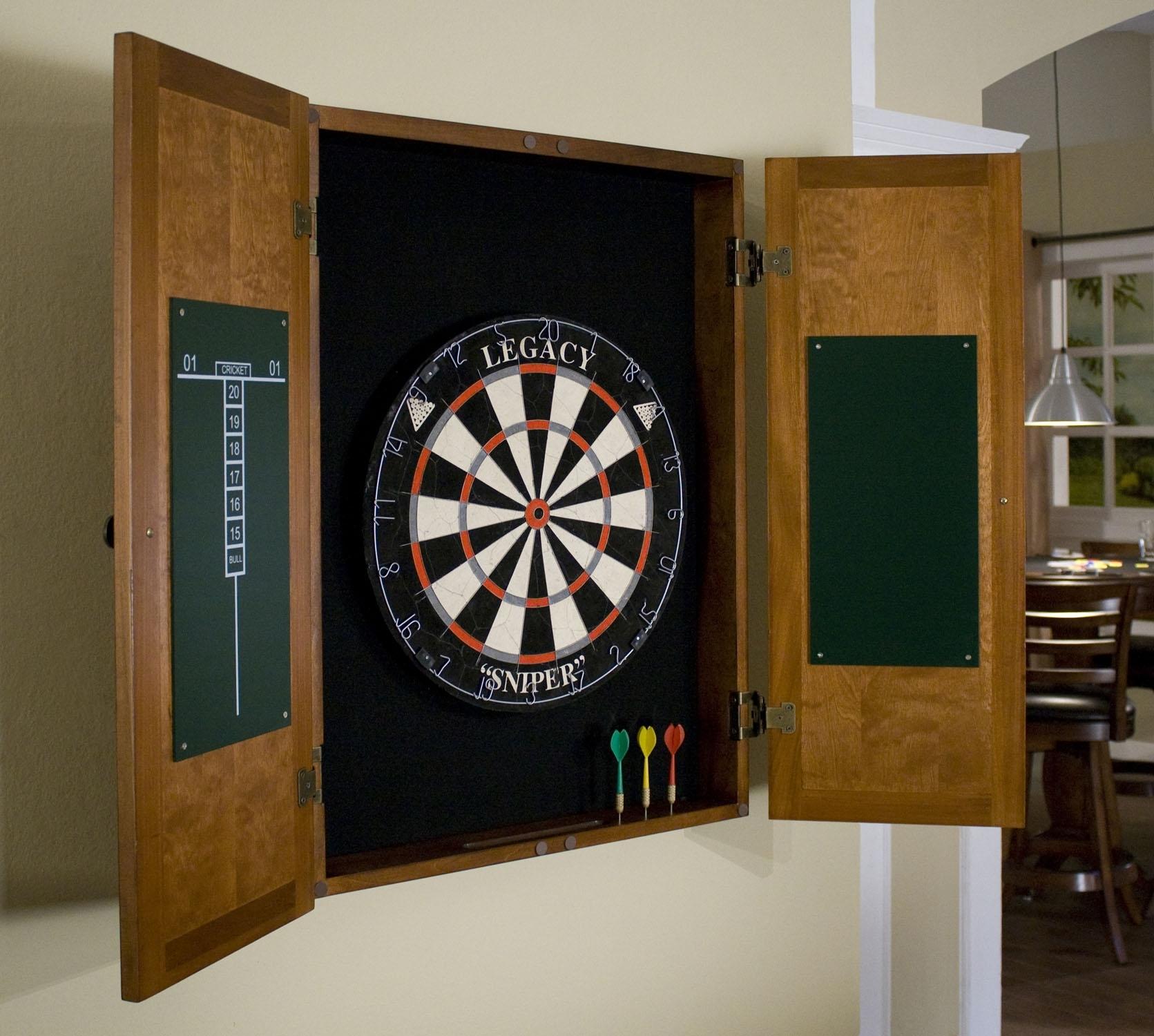Madison Art Center Design: Viper Electronic Dart Board Cabinet