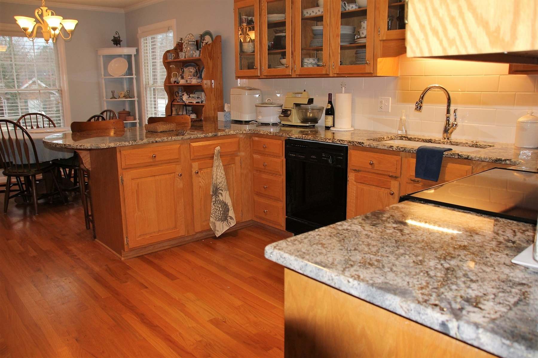 Get Touched By Blue Flower Granite And Countertops ...
