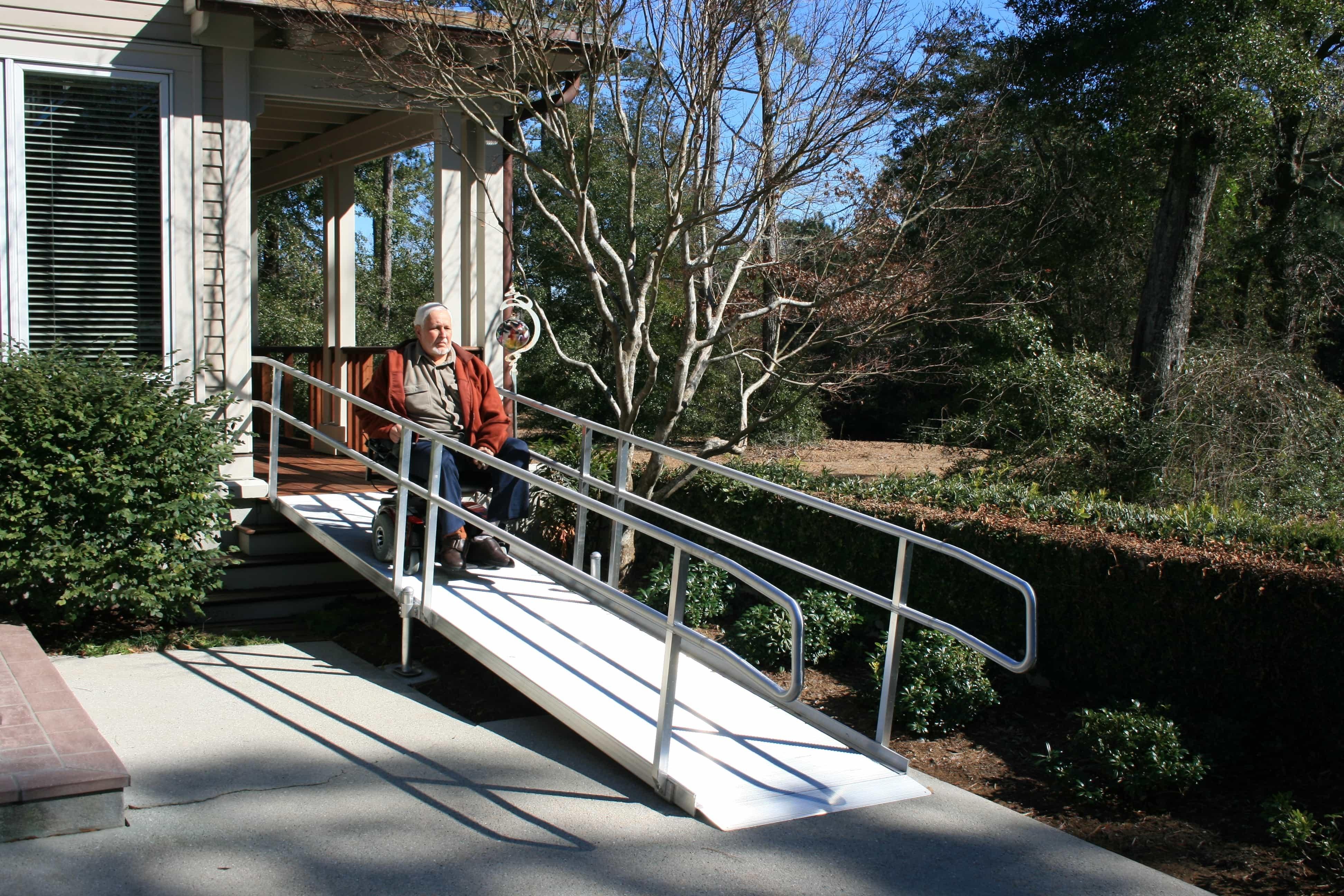 Wheelchair Ramp For 3 Stairs Madison Art Center Design