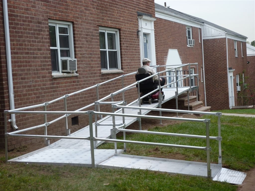 Wheelchair Ramps For High Stairs