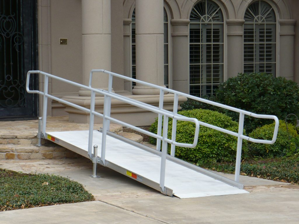 Wheelchair Ramps For Steep Stairs Madison Art Center Design